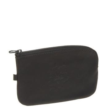Leather purse bata, black , 944-6161 - 13