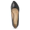 Black leather pumps insolia, black , 724-6104 - 17