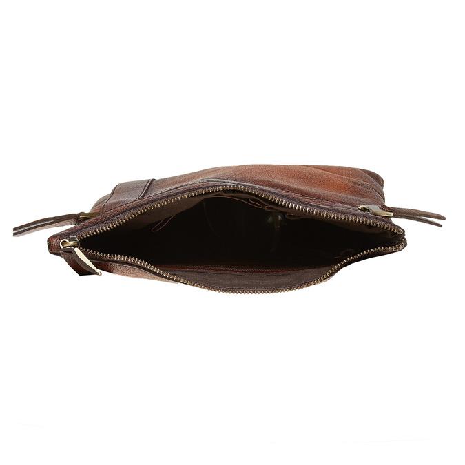 Men´s leather Crossbody bag, brown , 964-4138 - 15