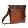 Men´s leather Crossbody bag bata, brown , 964-4138 - 13