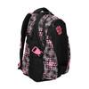 Girls´ school backpack with printed pattern bagmaster, black , 969-5615 - 13