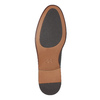 Brown leather shoes bata, brown , 824-4684 - 26
