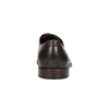 Brown leather shoes bata, brown , 824-4684 - 17
