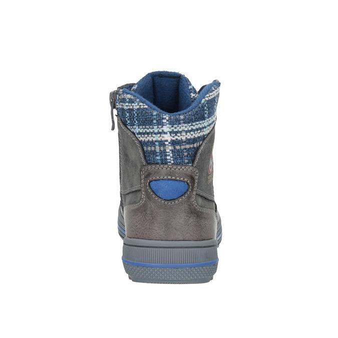 Children's ankle boots mini-b, gray , 491-2651 - 17