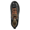 Leather Ankle Boots with Colorful Shoelaces bata, black , 894-6180 - 19