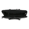 Elegant handbag for carrying in the hand bata, black , 961-6882 - 15