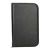 Leather manicure set bata, black , 944-6205 - 26