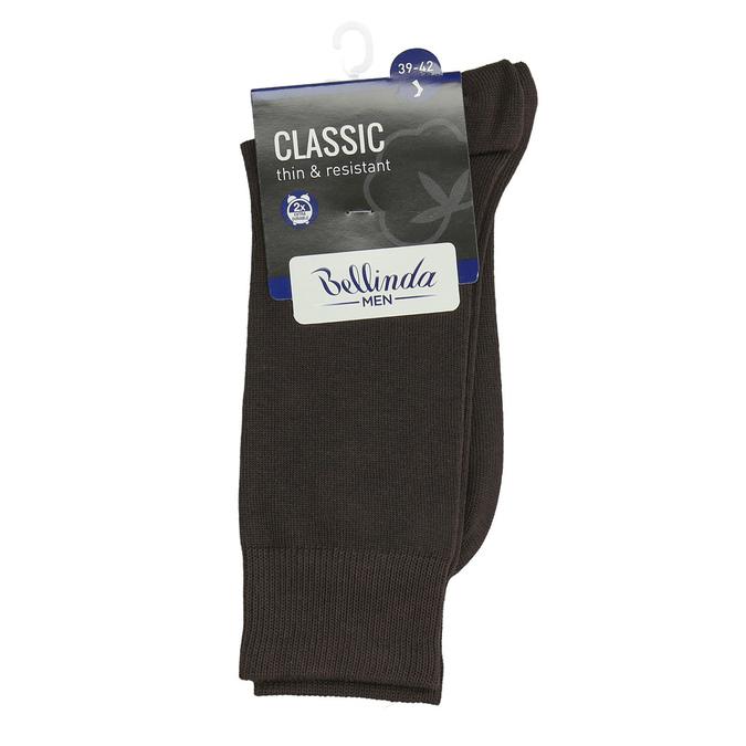 Men's classic socks bellinda, brown , 919-4666 - 13