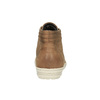 Ladies' ankle sneakers bata, brown , 594-8659 - 17