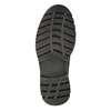 Men's leather ankle-cut shoes weinbrenner, gray , 896-2107 - 26