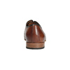 Patterned leather shoes bata, brown , 826-3813 - 17