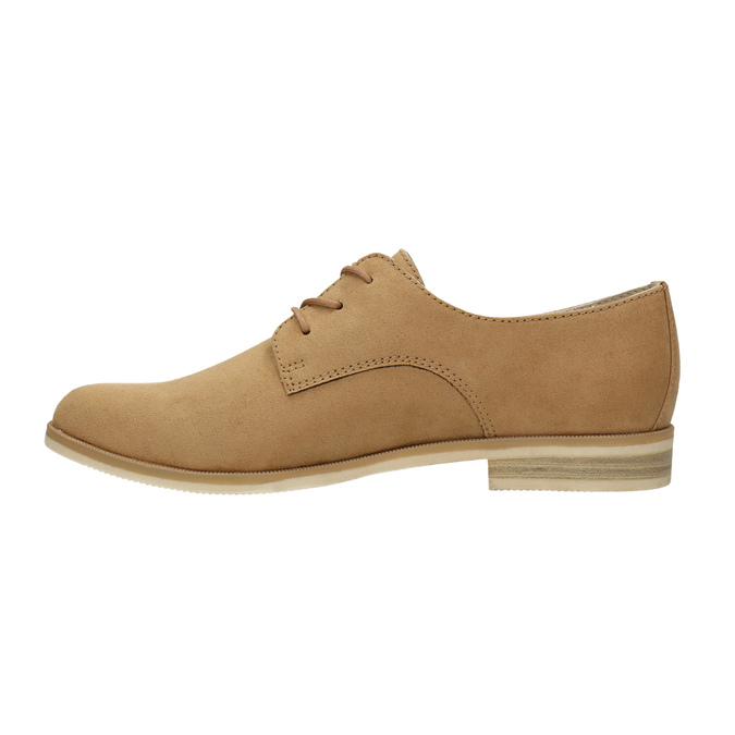 Ladies' Derby shoes bata, brown , 529-3632 - 26