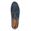 Casual leather shoes bata, blue , 843-9623 - 19