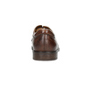 Men's brown leather shoes bata, brown , 826-4800 - 17