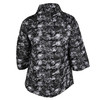 Ladies' quilted jacket with floral pattern bata, black , 979-6316 - 26