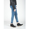 Black leather high ankle boots bata, black , 596-6633 - 18