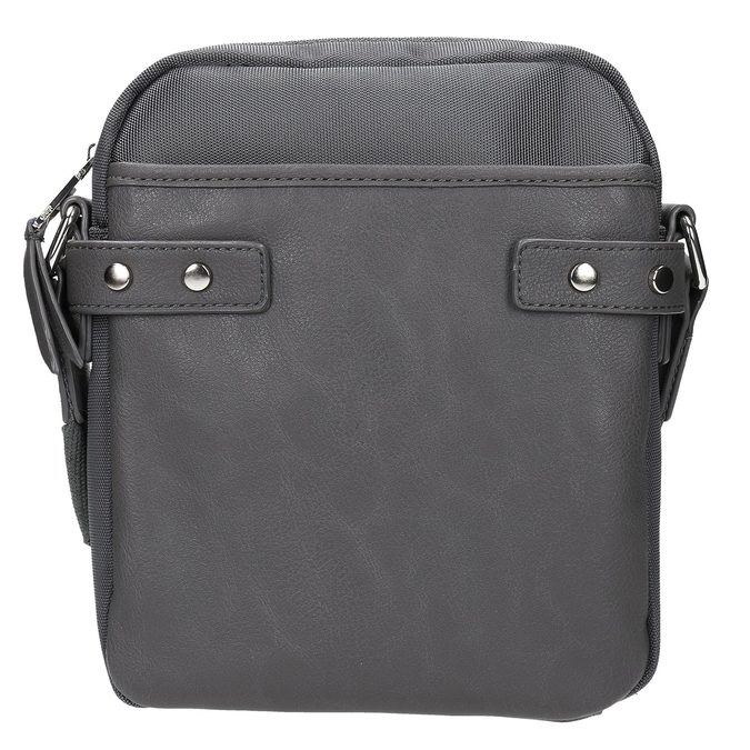 Long strap bag bata, gray , 969-2366 - 26
