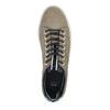 Men's leather sneakers bata, brown , 843-8621 - 19