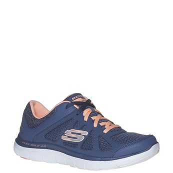 Ladies' sporty sneakers skechers, blue , 509-9963 - 13