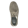 Casual leather shoes bata, gray , 853-2612 - 19