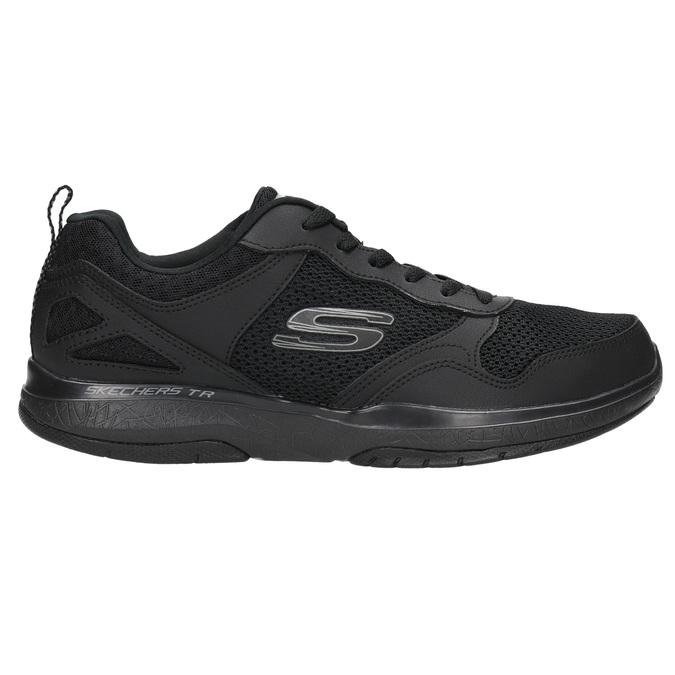 Men's sneakers with memory foam skechers, black , 809-6141 - 15
