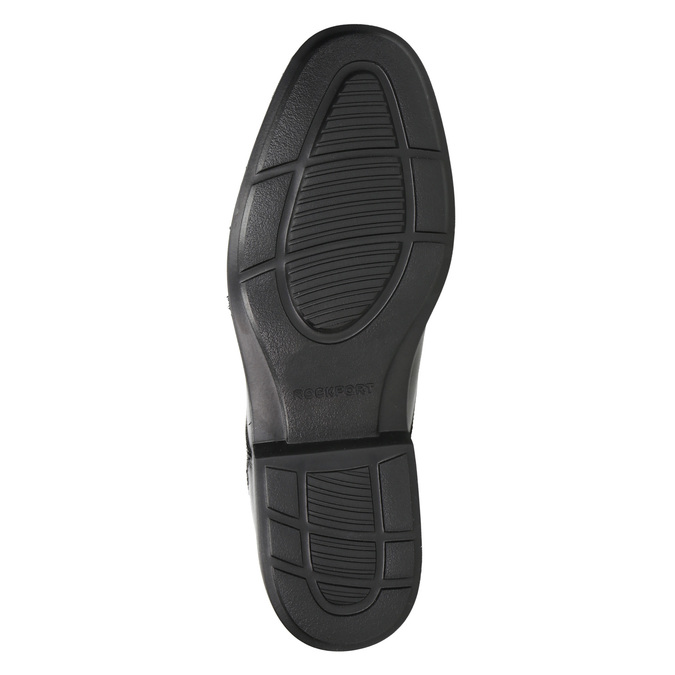 Black leather shoes rockport, black , 824-6127 - 26