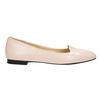 Ladies' leather ballerinas bata, pink , 528-5630 - 15