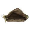 Ladies' leather crossbody handbag fredsbruder, green, 963-7031 - 15