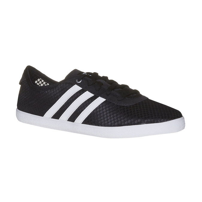 Ladies' breathable sneakers adidas, black , 509-6489 - 13