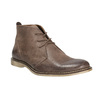 Leather ankle boots bata, brown , 826-4600 - 13