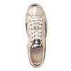 Ladies' leather sneakers with stitching diesel, pink , 584-8438 - 19