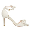 Ladies' sandals with bow insolia, beige , 769-1614 - 15