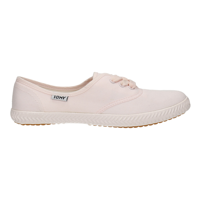 Ladies' pink sneakers tomy-takkies, pink , 589-5180 - 15