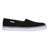 Ladies' black slip-ons tomy-takkies, black , 589-6170 - 15