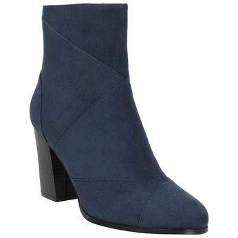 Ladies' blue ankle boots bata, blue , 799-9615 - 13
