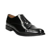 Black leather Oxford shoes bata, black , 826-6671 - 13