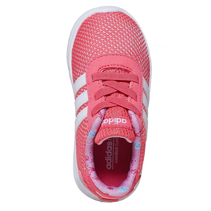 Girls' pink sneakers adidas, pink , 109-5288 - 19