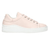 Ladies' leather sneakers bata, pink , 526-5641 - 26