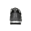 Girl's sneakers with small rhinestones mini-b, black , 329-6295 - 17