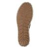 Ladies' leather sneakers weinbrenner, brown , 546-4604 - 17