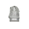Girl's silver sneakers with small rhinestones mini-b, gray , 329-2295 - 17