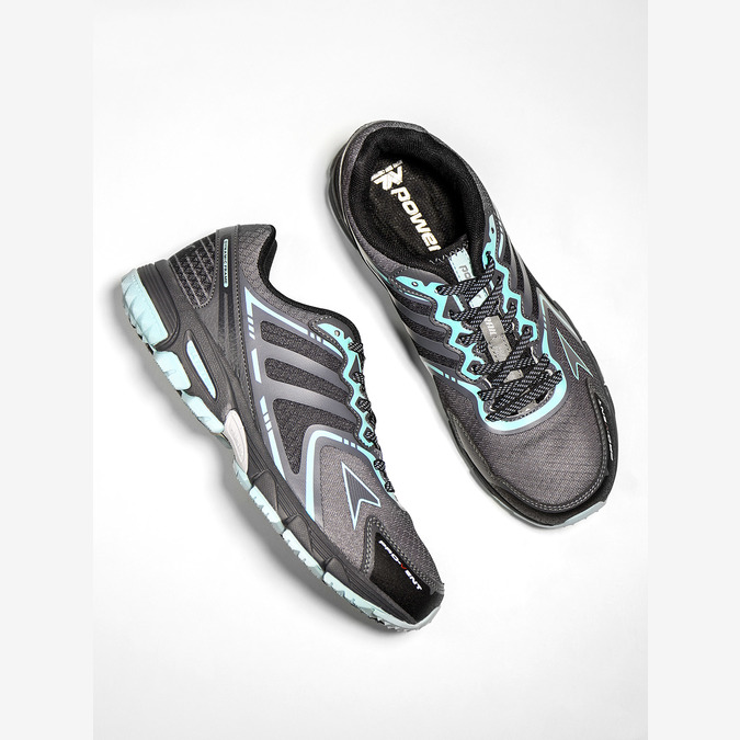 Ladies' athletic shoes power, gray , 509-2226 - 19