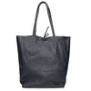 Ladies' leather Shopper handbag, blue , 964-9122 - 16
