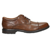Brown leather shoes with stitching rockport, brown , 826-4020 - 15