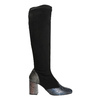 Ladies' High Boots with Sturdy Heel, black , 796-6010 - 26