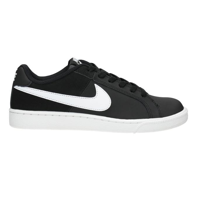 Ladies' White Sneakers nike, black , 501-6164 - 26