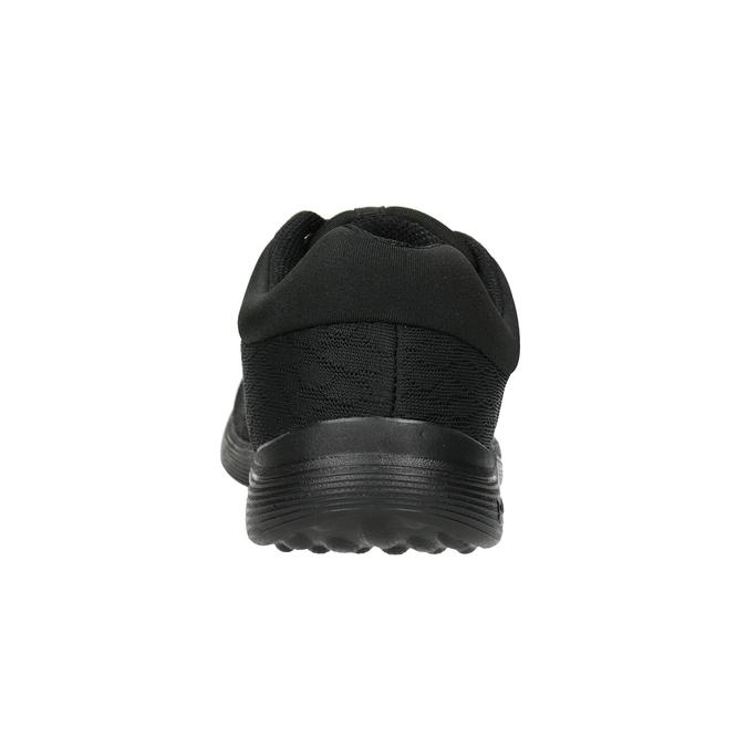 Ladies' Black Sneakers power, black , 509-6203 - 16