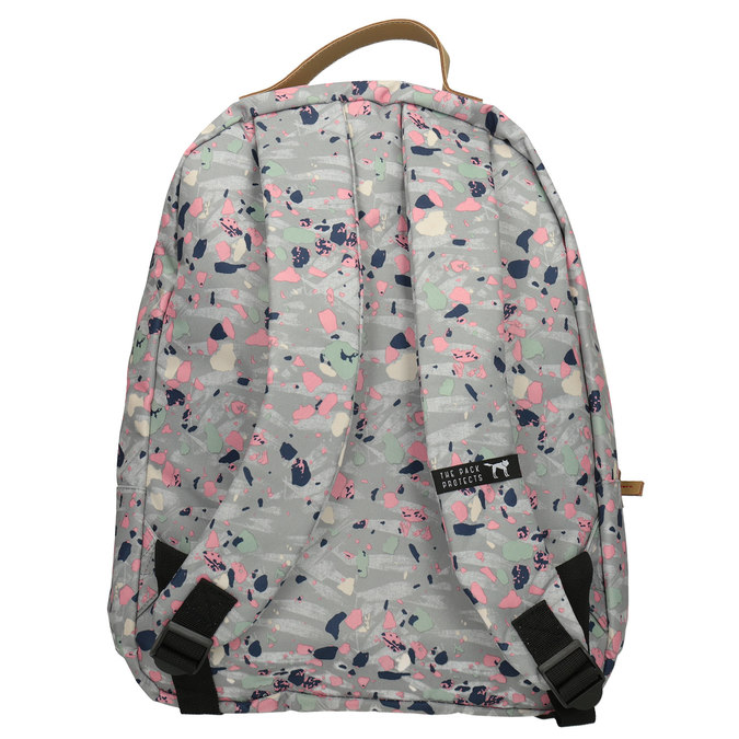 Backpack with Colourful Pattern, gray , 969-2085 - 16