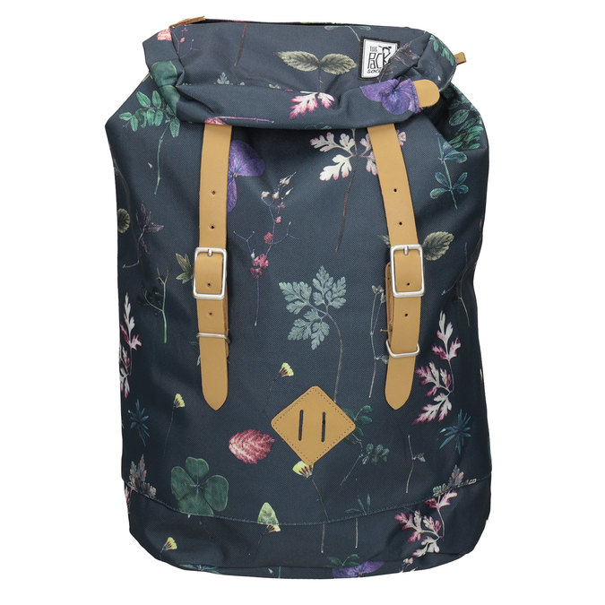 Backpack with Colourful Pattern, blue , 969-0076 - 26