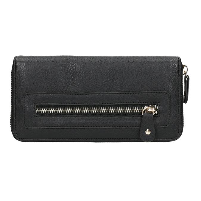 Ladies' wallet bata, black , 941-6181 - 26